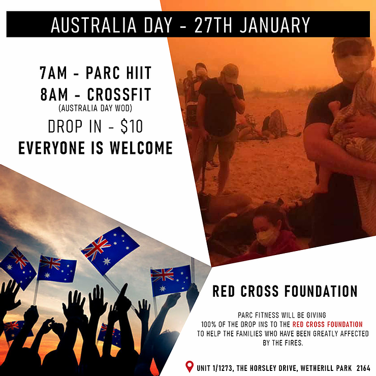 AUSTRALIA DAY – 27TH JANUARY 2020